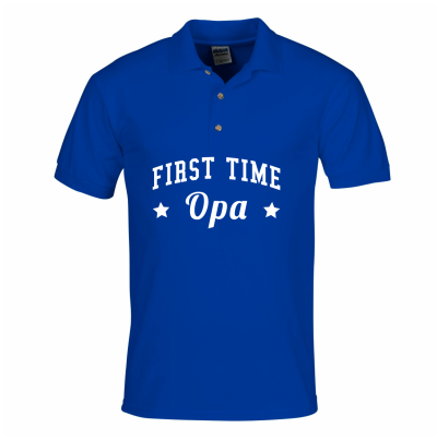 First time opa polo