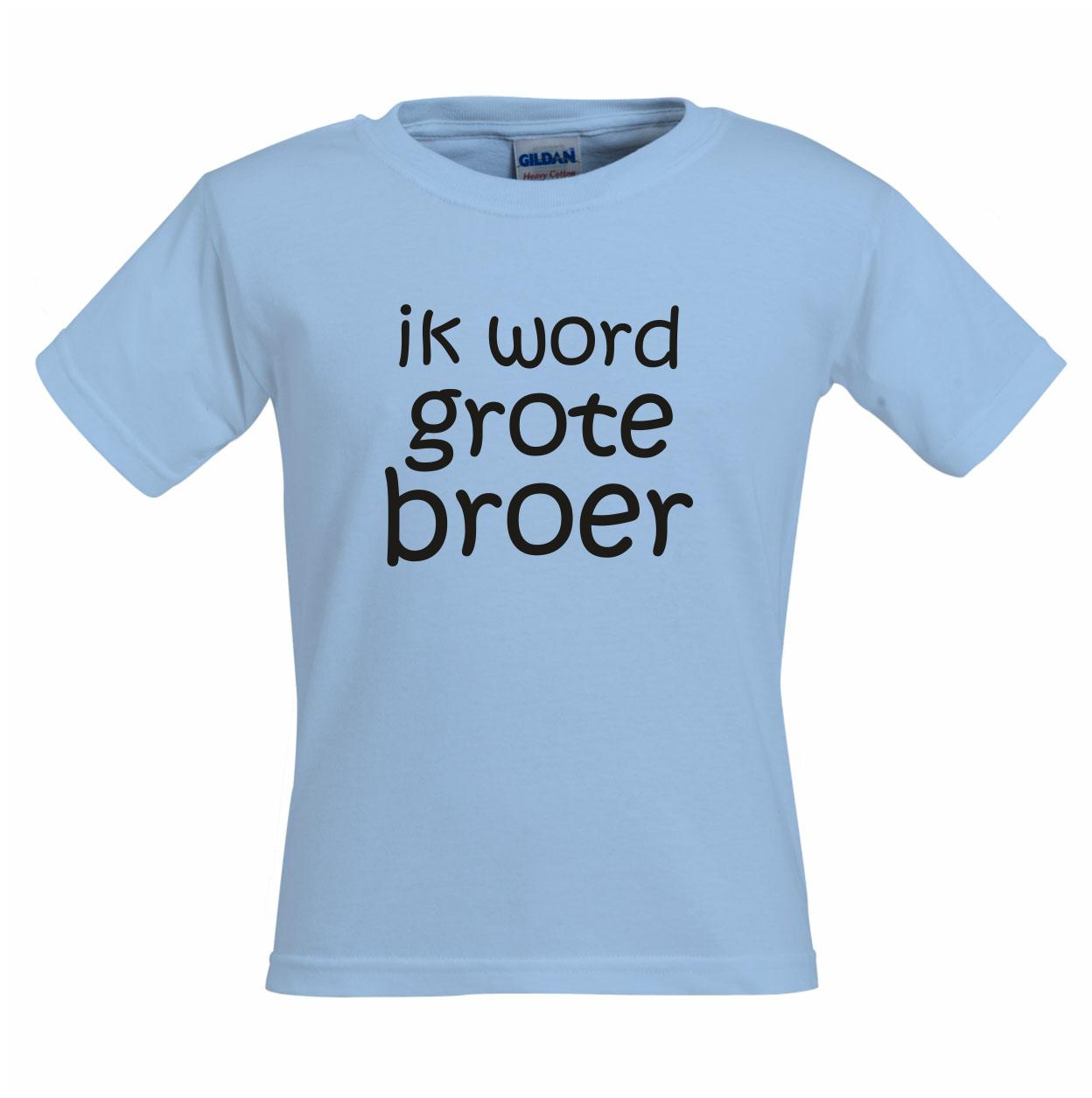 Ik word grote broer shirt