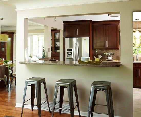 kleine keuken draagmuur