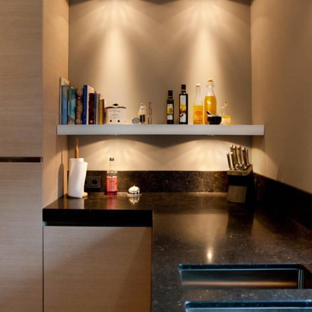 6 tips voor het inrichten van een kleine keuken mamasopinternet - Kleine keuken met bar ...