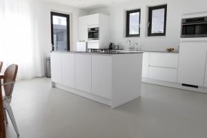 Gietvloer - keuken