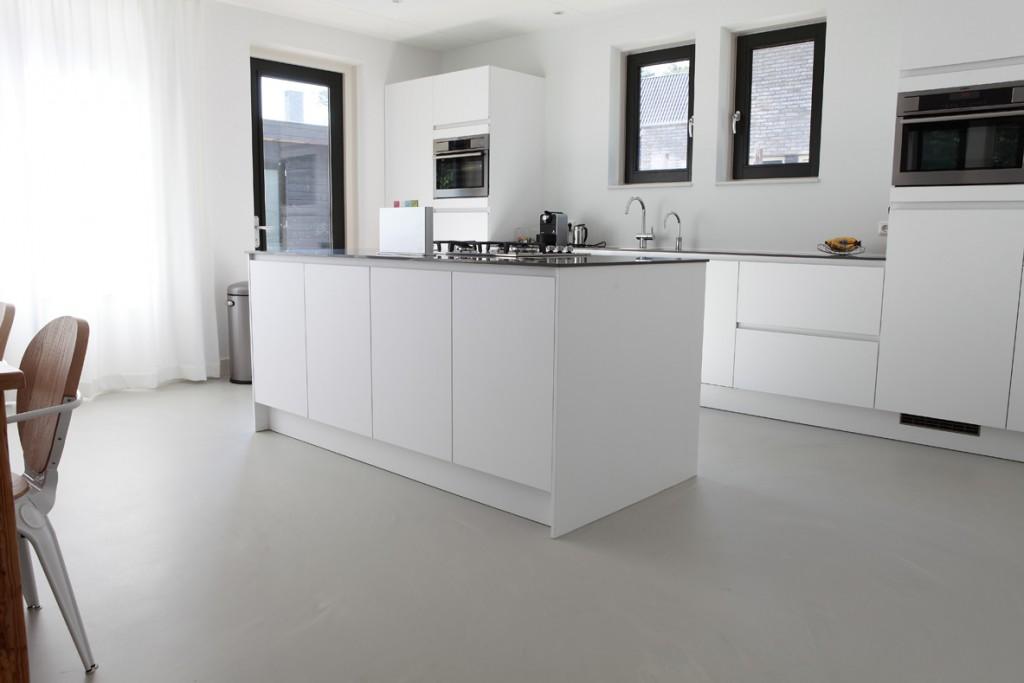 Gietvloer Voor Keuken : Gietvloer – keuken