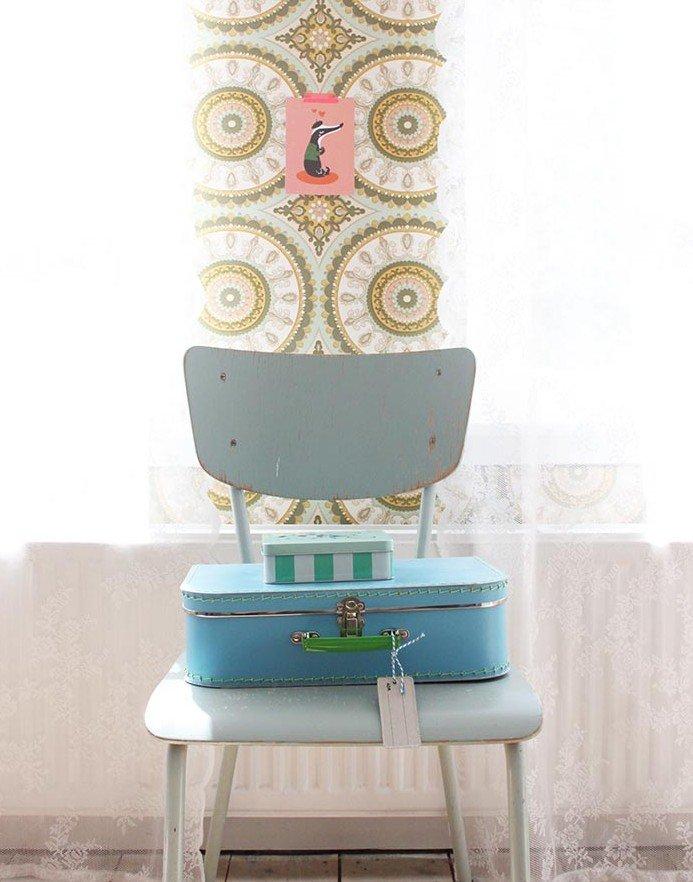 Brocante babykamer - decoratie