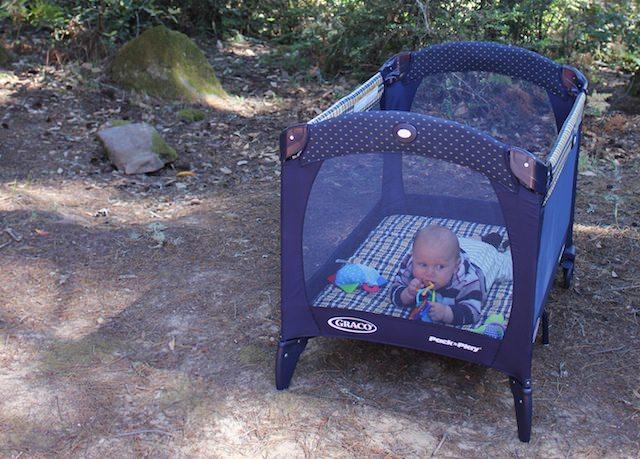 kamperen baby