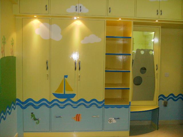 Klerenkast geel-furniture4umumbai.in