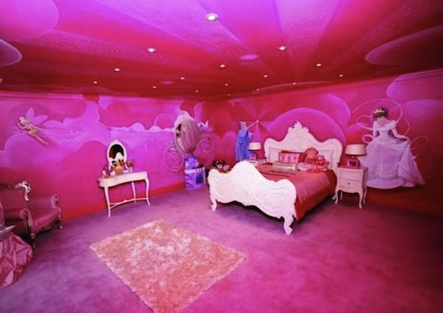 Prinsessenkamer - behang - room.kitchencadid.com