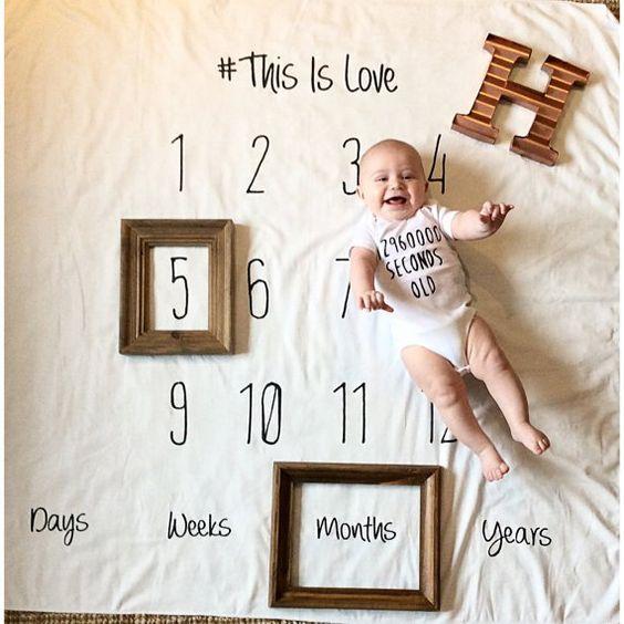 babygroei schema is een goed babyshower cadeau