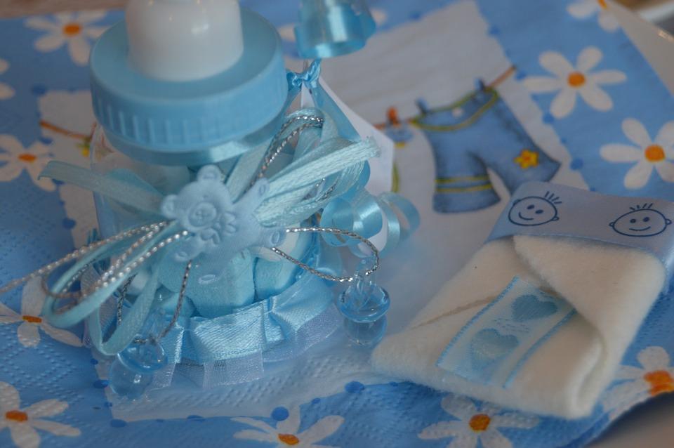Baby cadeautje flesje
