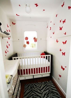 Hele kleine babykamer