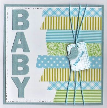 Zelfgemaakt DIY geboortekaartjes inspiratie