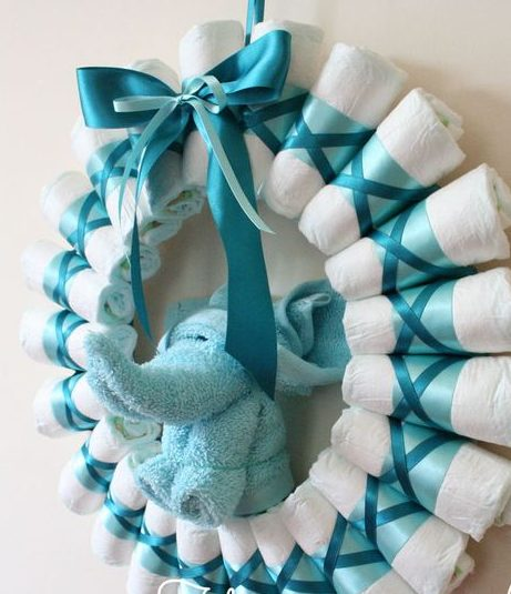 Luiers met knuffeltje - homemade-gifts-made-easy.com