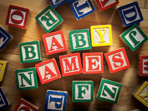 Gekke babynamen 2016