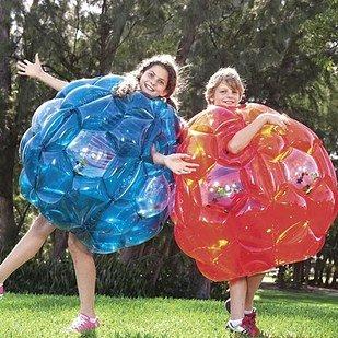 dik worstelpak met bubbels
