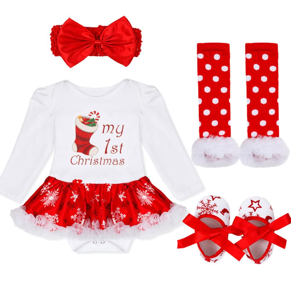 Compleet setje voor baby's eerste kerst