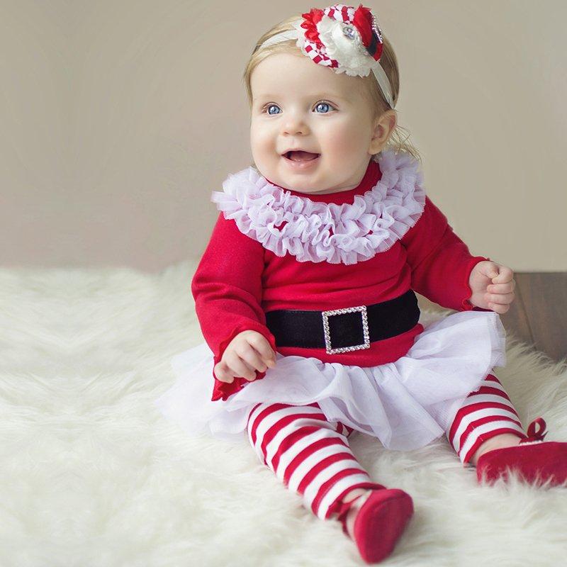 Babykleding Eerste Kerst.5 Te Schattige Kerstpakjes Voor Je Baby Mamasopinternet