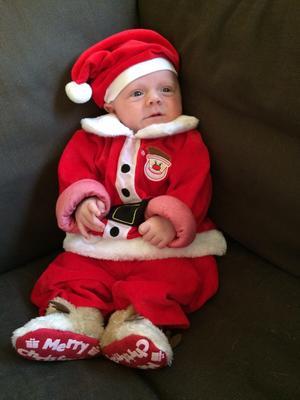 Schattig kerstpakje voor de baby
