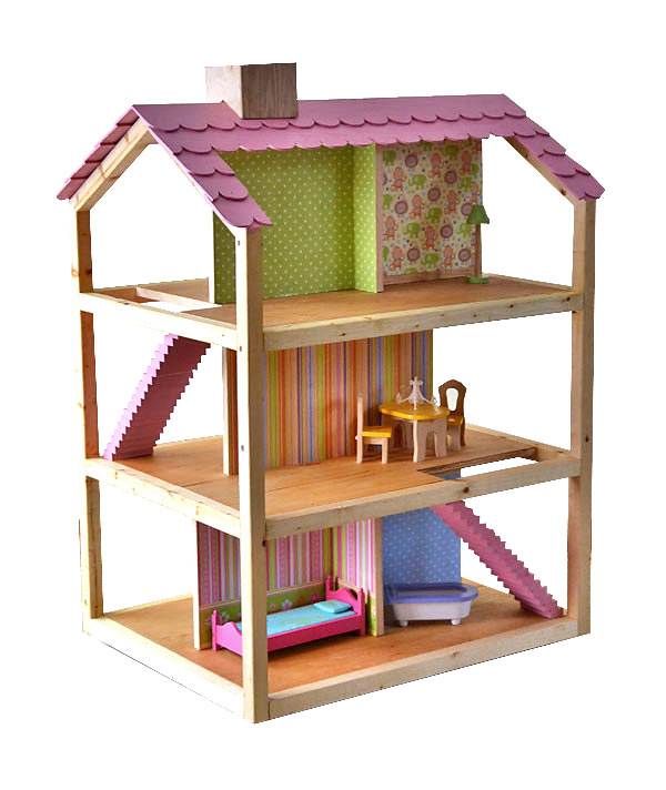 8 prachtige diy poppenhuizen boekenrekje