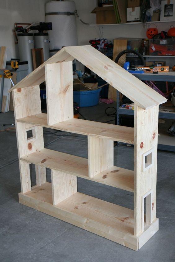 8 prachtige DIY poppenhuizen in aanbouw