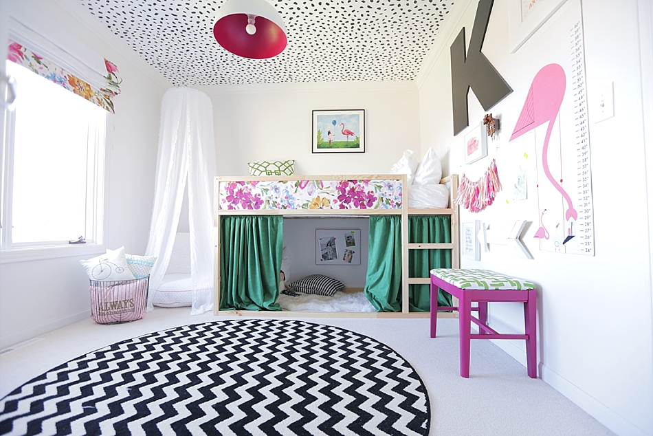 Ikea bed hack voor kinderkamer