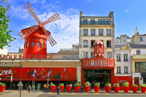 Moulin Rouge in Parijs