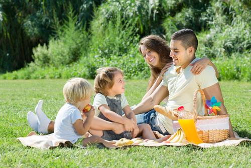 Picknick in Parijs met kinderen