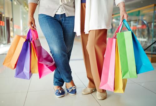 Shoppen op de huishoudbeurs