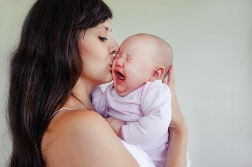 Baby huilt meer in Nederland