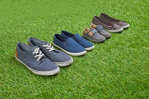 Schoenen kopen als gezin