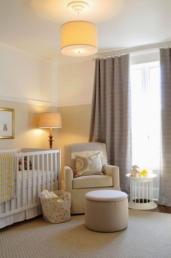 Warme babykamer