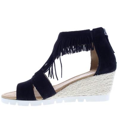 zomerschoenen - Sandalen met sleehak