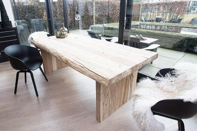 7x Klassiek Interieur : Prachtige eikenhouten tafels mamasopinternet