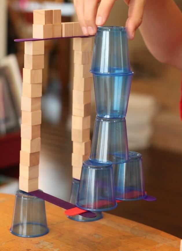 Spannende toren bouwen