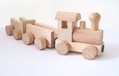 houten treintje