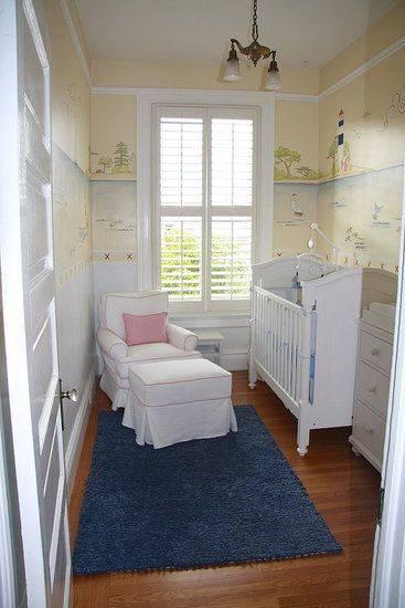Wonderbaar 6 leuke ideeën en tips voor een kleine babykamer - Mamasopinternet ZM-33