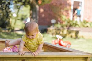 kinderen huis controleren