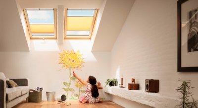 zon wanddecoratie kinderkamer