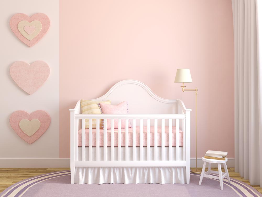 Roze Blauwe Kinderkamers : Voorbeelden van een prachtige roze babykamer mamasopinternet