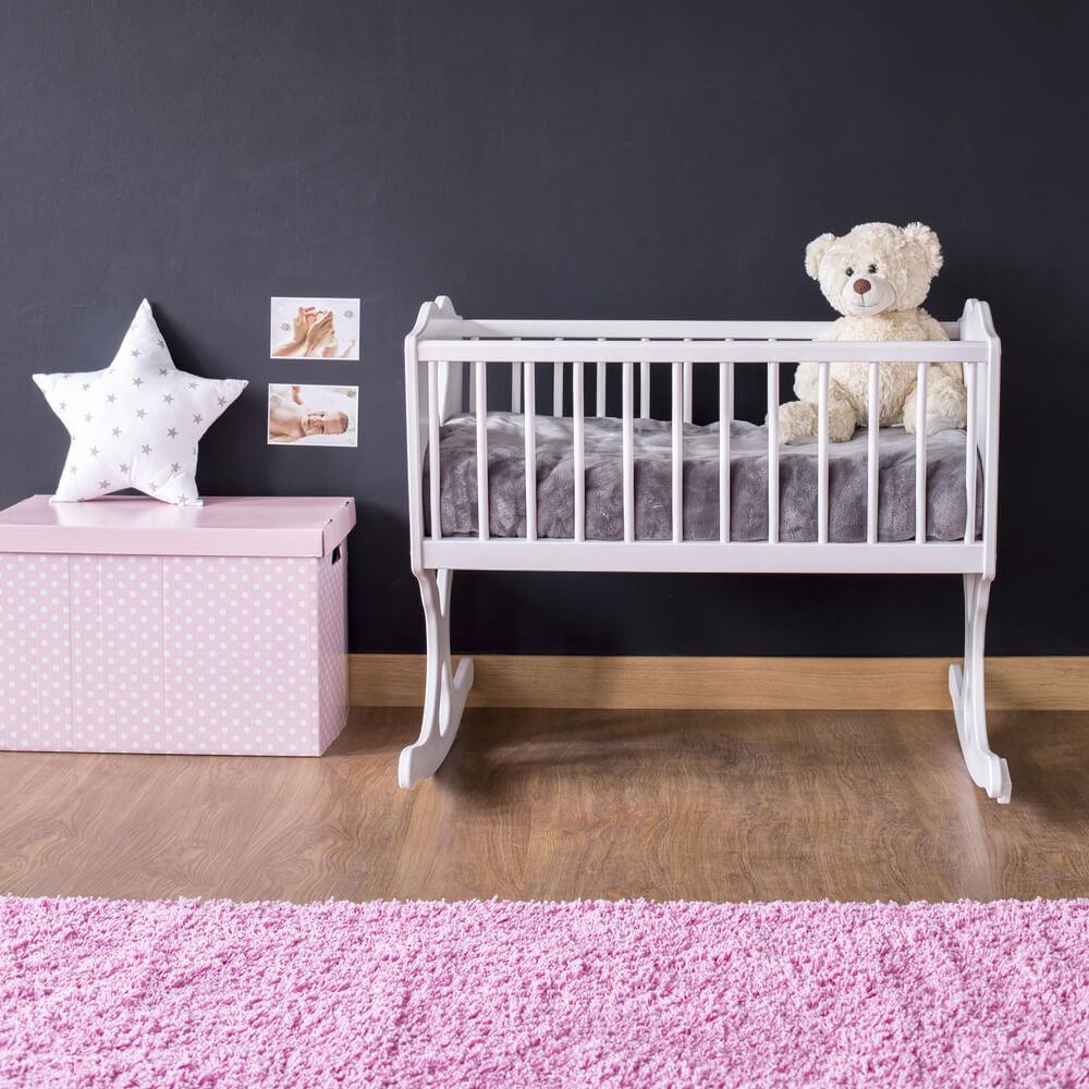 10 voorbeelden van een prachtige roze babykamer