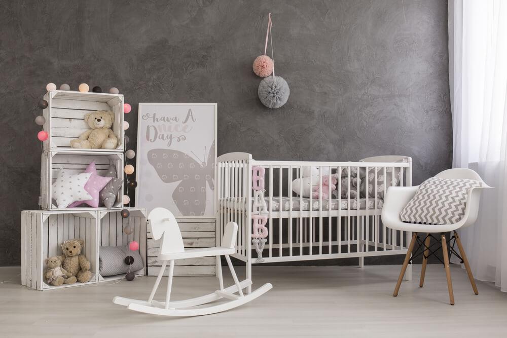 Babykamer Meisje Grijs Roze.10 Voorbeelden Van Een Prachtige Roze Babykamer