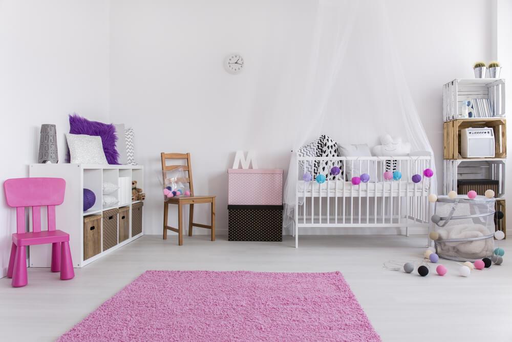 Ruime Lichte Babykamer : Ruime lichte babykamer: ontwerp van een kinderkamer voor meisjes