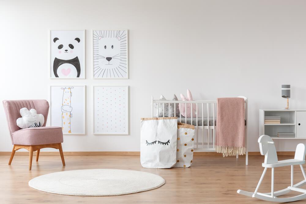 Comfortabel Vloerkleed Babykamer : Voorbeelden van een prachtige roze babykamer mamasopinternet