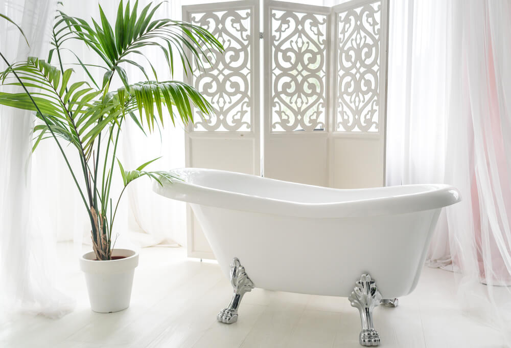 Plant in de badkamer - Mamasopinternet