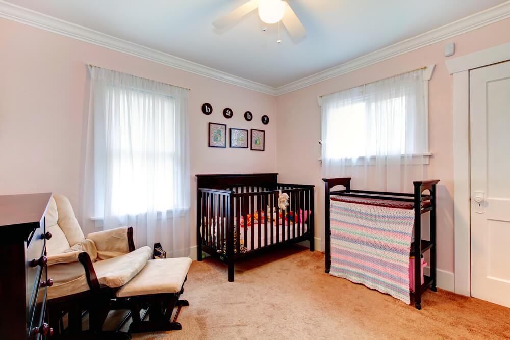 Ruime Lichte Babykamer : 10 voorbeelden van een prachtige roze babykamer! mamasopinternet