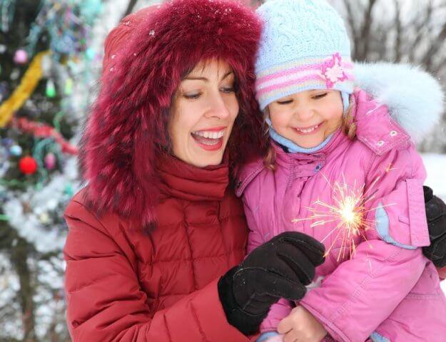 Winterjassen moeders