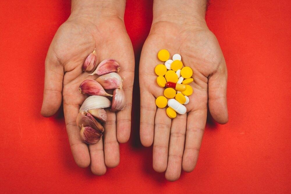 Knoflook tabletten