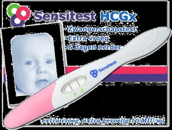 sensitest beste zwangerschapstest