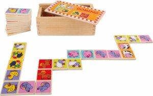 Boerderijdieren domino bordspel 3 jaar