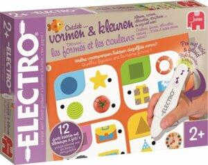 Electro vormen en kleuren - bordspellen 2 jarige