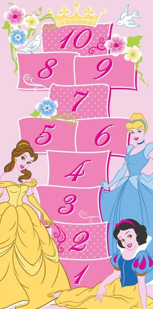 Disney prinsessen vloerkleed