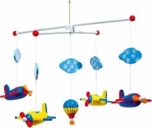 Mobiel voor baby's met vliegtuigjes